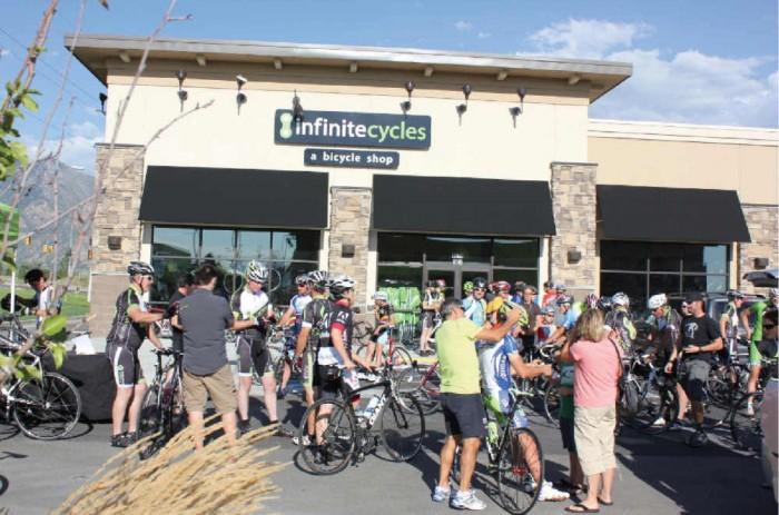Highland/Lehi Infinite Cycles Grand Opening