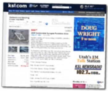 KSL.com Bike Listing