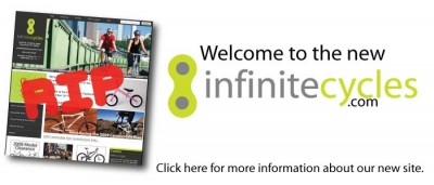 Welcome to the new InfiniteCycles.com