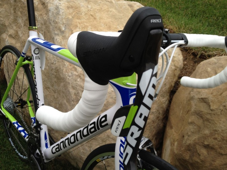 2013 Cannondale EVO 2 features new custom SRAM Red