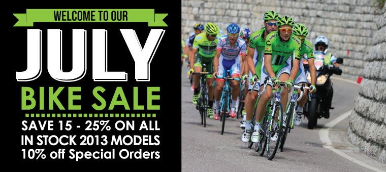 July Bike Sale