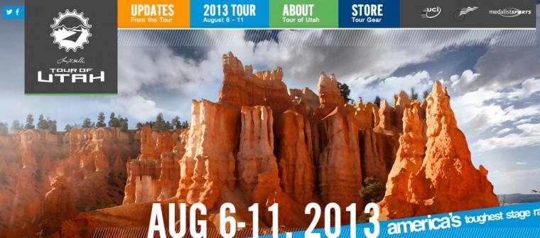 Tour of Utah Banner