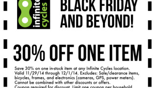 Bikes And Beyond Coupon off coupon for Black