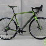 Cannondale 2015 Synapse Ultegra Disc 58cm Green and Black Used Demo Bike - Demo5