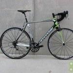 Cannondale 2014 Synapse HM Red 58cm Black, Green, White Used Demo Bike - Demo25