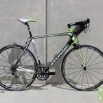 Cannondale 2014 Synapse HM Red 58cm Black, Green, White Used Demo Bike - Demo28