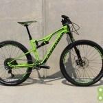 Cannondale 2016 Habit 1 Small Green Used Demo Bike - Demo53