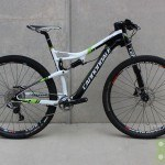 Cannondale 2014 Scalpel Team Large White w/ Green Used Demo Bike - Demo70