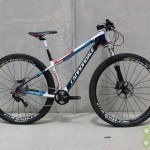 Cannondale 2014 F29 Carbon 2 Small Red, white, and blue Used Demo Bike - Demo75
